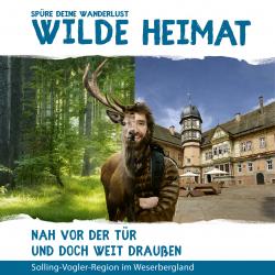 Wilde Heimat - Nah vor der Tür und doch weit draußen (Bildband)