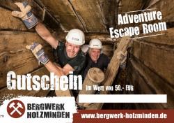 Gutschein Bergwerk Holzminden