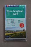 Weserbergland-Weg - KOMPASS-Wanderkarte